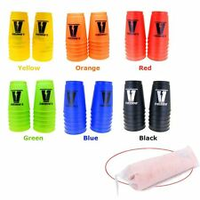 12 Sport Cups Stacks Stacking Flying 6 Colors Toys Fun ds25