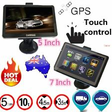 5/7 inch TFT LCD Display TRUCK CAR Navigation GPS Navigator SAT NAV 8GB 560 gdr