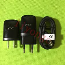 New Original Travel Wall Charger + Micro USB Cable For HTC ONE X V S M9 M8 M7 M6