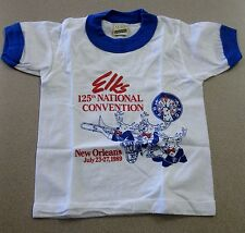 Vintage BPOE Elks 125th National Convention Tee Shirt FREE SHIPPING Front Office