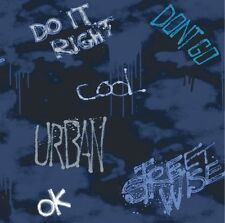 Arthouse Opera Fun, Street Wise, Blue, Wallpaper Wallcovering BNIB 534103