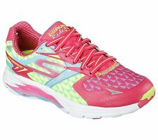 Skechers GO RUN Ride 5 Womens Running Shoe-13997-Hot Pink/Blue - Pick Size -NIB