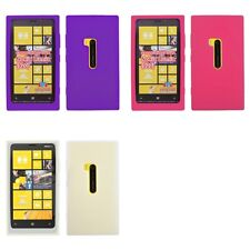 For Nokia Lumia 920 Silicone Skin Rubber Soft Case Phone Cover