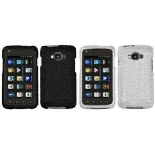 For Samsung Rugby Smart i847 Diamond Diamante Bling Rhinestone Case Cover