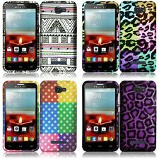 For Alcatel One Touch Fierce 2 7040T Snap-On Design Hard Phone Case Cover