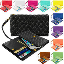 Luxury Wallet Flip Leather Design Case Cover Pouch Holder for Cell Phones iPhone