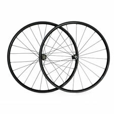 New Ship From UK 24mm Clincher Carbon Wheels Racing Bicycle Road Bike Wheelset