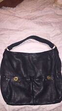 Marc by Marc Jacobs Black Leather Totally Turnlock Core Faridah Handbag/Purse