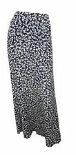 Marks & Spencer Classic Blue Print Stretchy Maxi Skirt with Elasticated Waist