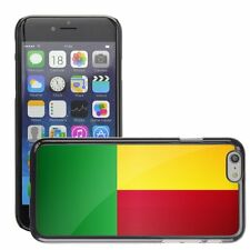 Hard Phone Case Cover Skin For Apple iPhone benin national flag country flag