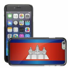Hard Phone Case Cover Skin For Apple iPhone cambodia national flag country flag