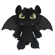 "How to Train Your Dragon Plush Toothless Night Fury Soft Toy Doll Teddy 12"" HOT~"