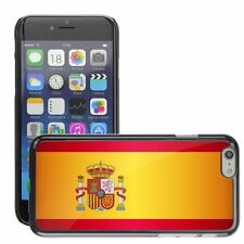 Hard Phone Case Cover Skin For Apple iPhone spain national flag country flag