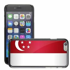Hard Phone Case Cover Skin For Apple iPhone singapore national flag country flag