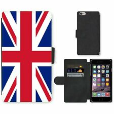 Phone Card Slot PU Leather Wallet Case For Apple iPhone Britain union jack unite