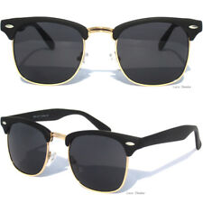 Retro Half Frame Brow Sunglasses Shades Retro Vintage Inspired New Sunnies