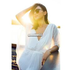 NEW Womens Sexy Grecian Batwing Sleeves Playsuit Jumpsuit Pants Black White EA9