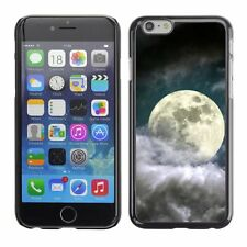 Hard Phone Case Cover Skin For Apple iPhone Close view of moon in clouds