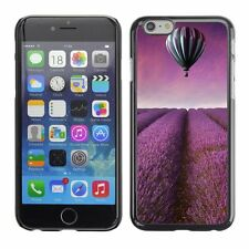Hard Phone Case Cover Skin For Apple iPhone Purple balloon over lavender