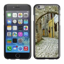 Hard Phone Case Cover Skin For Apple iPhone Stone street antique town