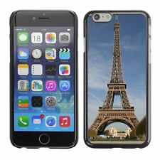 Hard Phone Case Cover Skin For Apple iPhone Eiffel Tower in autumn