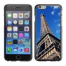 Hard Phone Case Cover Skin For Apple iPhone Bottom view of Eiffel Tower