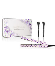 "Royale Diamond Collection 1"" Flat Iron - Purple PolkaDots"