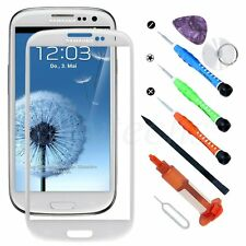 Outer Front Screen Glass Lens Replacement for Samsung Galaxy S3 Tool kit UV Glue