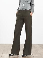 NEW Banana Republic Womens Pintuck Wide Leg Pants Herringbone 12 $118 SOLD OUT