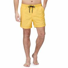 Maine New England Mens Yellow Basic Swim Shorts From Debenhams