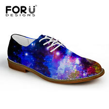Fashion Mens Casual Flat Shoes Lace Up Casual Brogue Dress Formal Shoes US 8-11