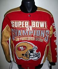 SAN FRANCISCO 49ERS Ultimate Super Bowl Championship Cotton Jacket