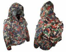 Swiss Army Alpenflage Parka & Backpack ( Choice of Size ) Military Surplus