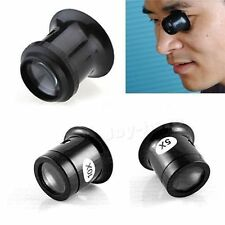 Loupe Eye 5X And 10X Watch Magnifier Repair Eyepiece Tool Jewellery Magnifier