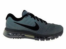 NEW MENS NIKE AIR MAX 2017 RUNNING SHOES TRAINERS TUMBLED GREY / BLACK / STEALTH
