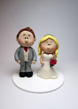 Personalised Wedding Cake Topper, Bride and Groom, Cake Decoration, Mini Topper