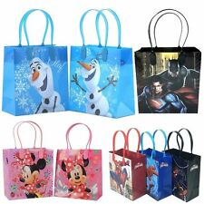 6X Disney DC Marvel Birthday Goody Gift Loot Favor Bags Party Supplies Gift Bag