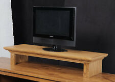 TV Riser Stand/ Soundbar Stand Traditional Oak Crown Molding