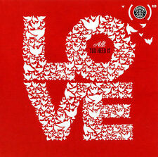 Starbucks Red Exclusive CD All You Need Is Love Music New Sealed U2 John Legend
