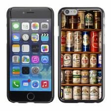 Hard Phone Case Cover Skin For Apple iPhone Beer collection shelves