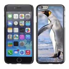 Hard Phone Case Cover Skin For Apple iPhone King penguin signaling