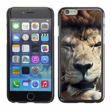 Hard Phone Case Cover Skin For Apple iPhone Old lion dreaming