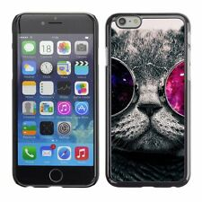 Hard Phone Case Cover Skin For Apple iPhone Universe in cat's glasse