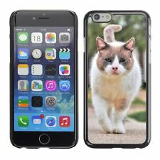 Hard Phone Case Cover Skin For Apple iPhone Street fighter cat appro