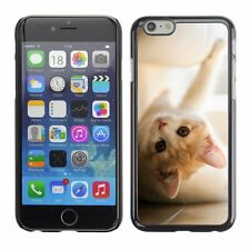 Hard Phone Case Cover Skin For Apple iPhone Playful red kitten on a