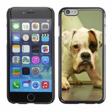 Hard Phone Case Cover Skin For Apple iPhone Charming puppy playing