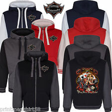 Play Now Casino Custom Chopper Bobber Biker Varsity Hoodie zip Bomber Jacket 167