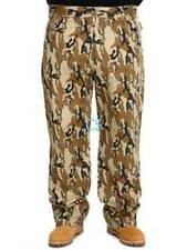 NWT $60-Big Mens Ecko Unltd Brown Green Camouflage Loose Fit Jeans Pants-48 & 50