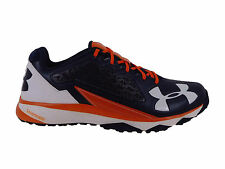 NEW MENS UNDER ARMOUR DECEPTION TRAINER RUNNING SHOES TRAINERS NAVY / ORANGE