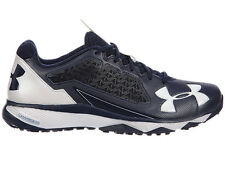 NEW MENS UNDER ARMOUR DECEPTION TRAINER RUNNING SHOES TRAINERS NAVY / WHITE